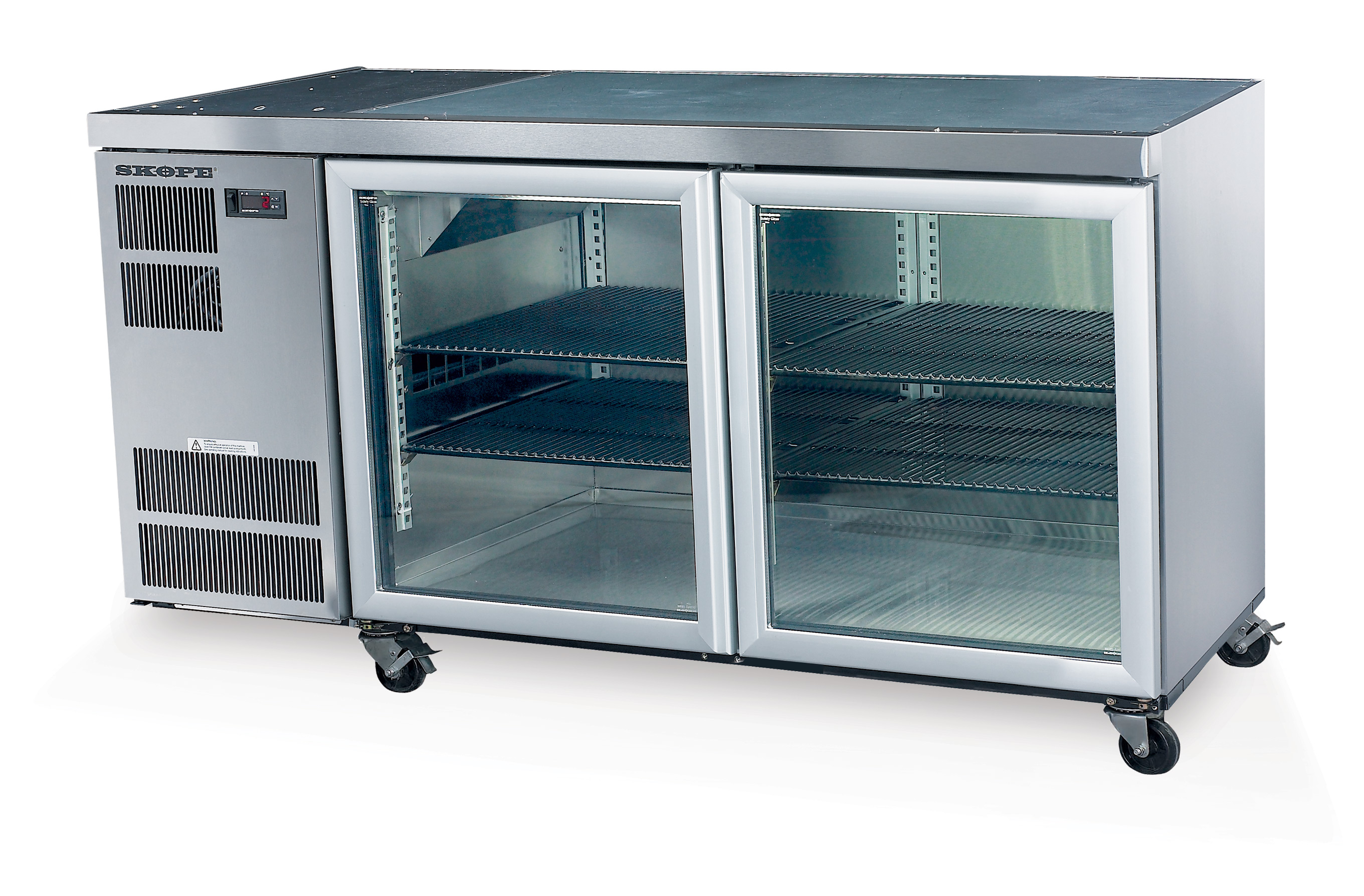 SKOPE Refrigeration | CC300 2 Swing Glass or Solid Door Fridge Remote